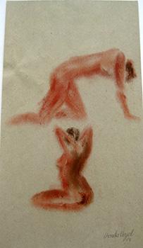 Studie, Pigmente (30x40cm)_1