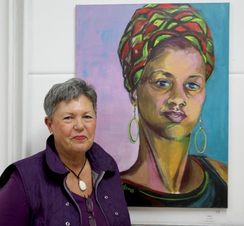 Ursula Vogel mit Adora